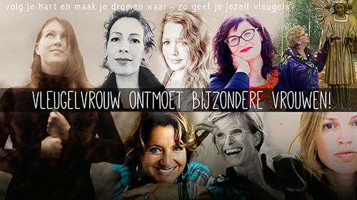 Vleugelvrouw NL tour met Lou Niestadt, Esther de Charon de Saint Germain, Denise Wielink, Hinke Huisman, Mirjam van den Bogaard en José Breed